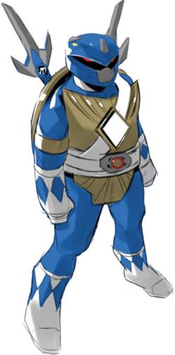 Blue leo profile