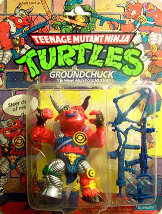 Turtle-Tethering Crossbow TMNT Teenage Mutant Ninja Turtles 1991 Groundchuck