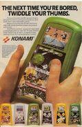 Konami hanhelds ad TMNT