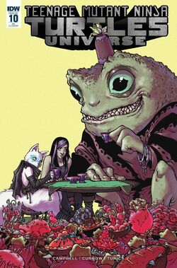TMNTU -10 Retailer Incentive Cover by Sophie Campbell