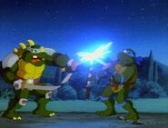 Teenage mutant ninja turtles fred wolf slash vs leonardo
