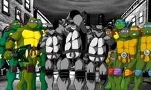 Turtles Forever - all of them