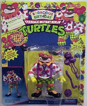 Classic Clownin Mike 1992 Action Figure Tmntpedia