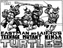 TMNT Tortues Ninja Pages 2-3 comics Mirage4