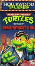 TMNT Rebel Without a Fin VHS