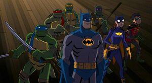 Batman vs TMNT promo