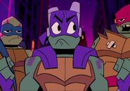 Leo, Donnie, and Raph