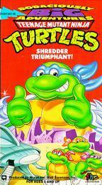 TMNT Shredder Triumphant! VHS