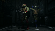 Injustice 2 - raph and leo