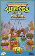 TMNT The Four Musketurtles VHS