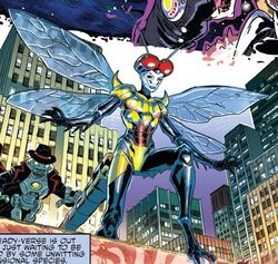 Idw - april as nightbug