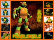 Michelangelo collage