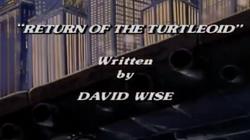 Return turtleoids