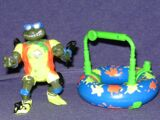 Surfin' Leo with Mondo Mutant Surfer Tube (1994 toy)