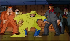 Mobster from dimension x 15 - slimed