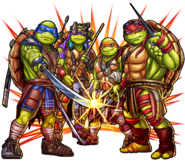 Monsterstrike tmnt