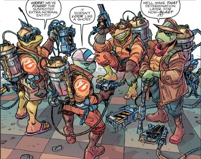 Turtle Ghostbusters