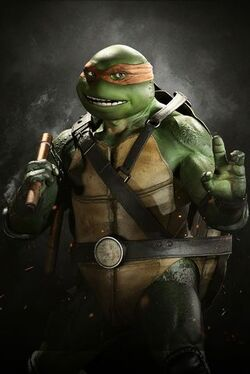 Injustice2 MICHELANGELO