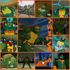Tmnt mikey collage 2003 by culinary alchemist-d61lvcb