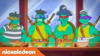 TMNT Summer Shorts 'Boulangerie' Teenage Mutant Ninja Turtles Nick