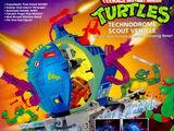 Technodrome Scout Vehicle (1993 toy)