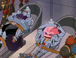 The power of three 84 - shredder and krang