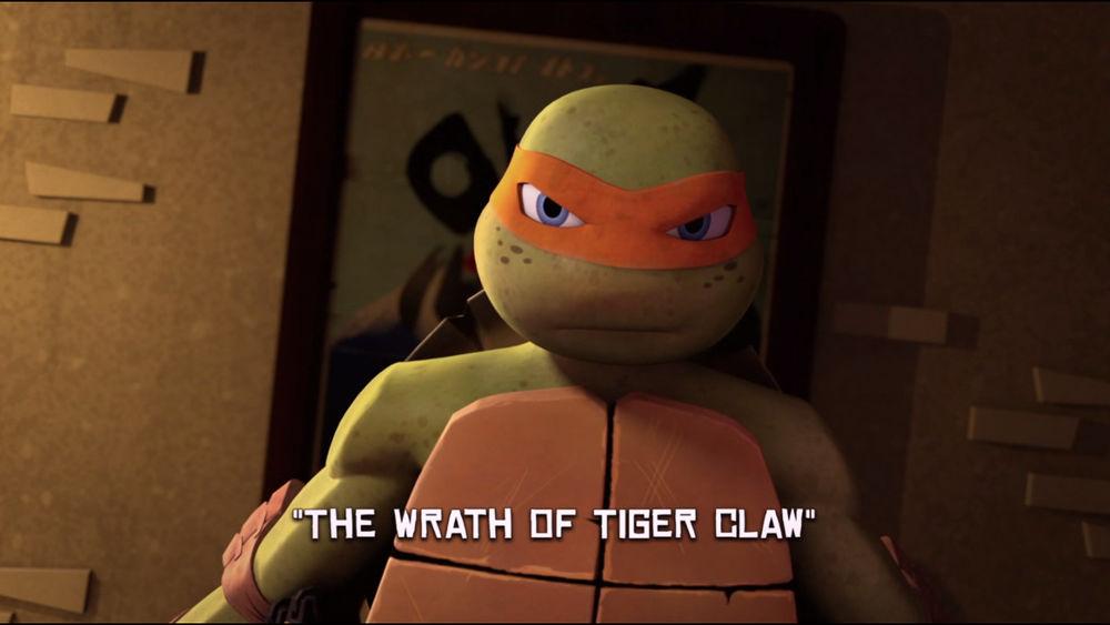 The Wrath Of Tiger Claw Tmntpedia Fandom Powered By Wikia