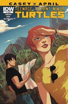 TMNT- Casey & April -1 Regular Cover by Irene Koh