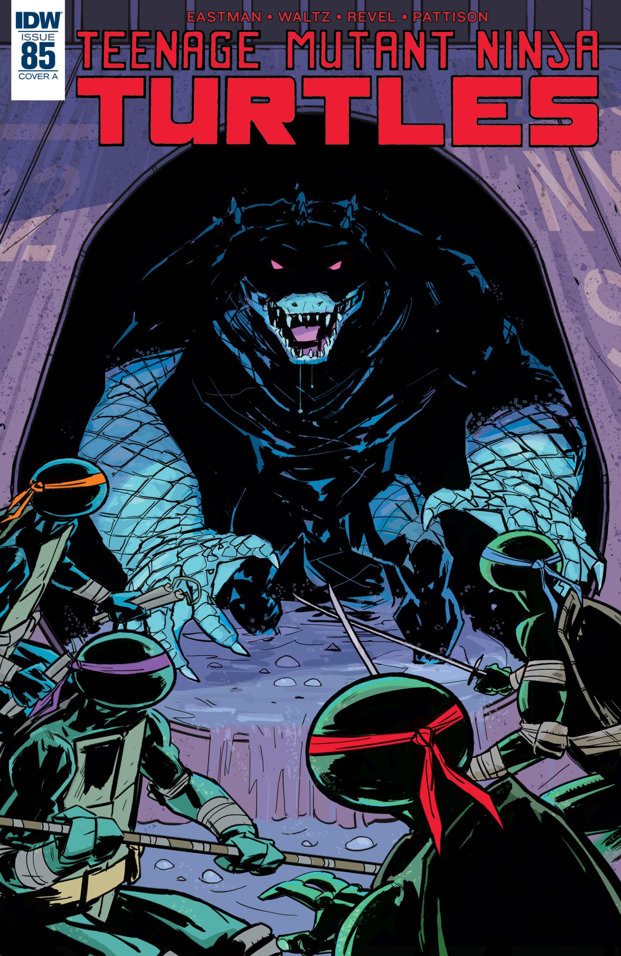 Teenage Mutant Ninja Turtles Issue 85 Idw Tmntpedia Fandom