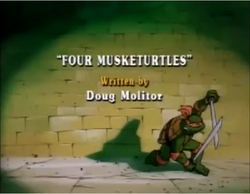Four Musketurtles Title Card
