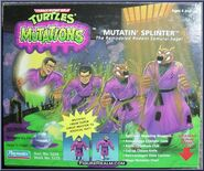 Mutatin' splinter action figure 1992