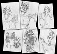 TMNT TIME 2 sketches