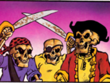 Skeleton Pirate (TMNT Magazine)