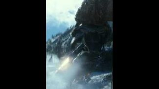 TMNT Movie - Michelangelo Motion Poster