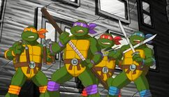 1980s TMNT frightened