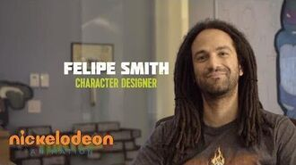 Felipe Smith Artists in Action Nick Animation