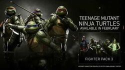 Injustice 2 - Teenage Mutant Ninja Turtles