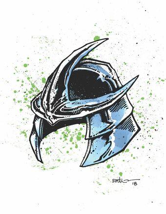 Shredder S Helmet Idw Tmntpedia Fandom