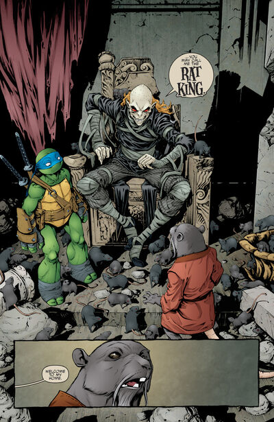 Rat King's Home (IDW)
