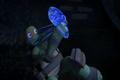 Mushroom mutant thing attacks mikey
