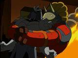 Zog catch Shredder