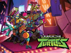 Rise of the tmnt group picture