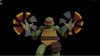 Raph showing weapon
