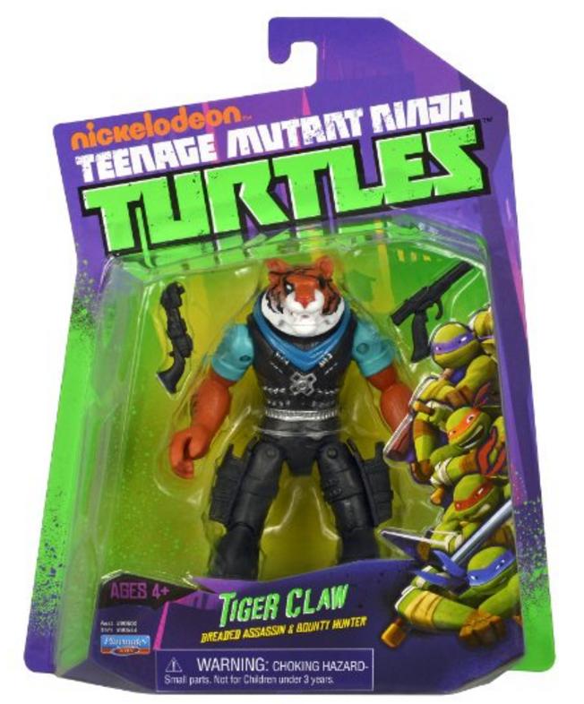 Tiger Claw 2014 Action Figure Tmntpedia Fandom