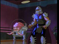 Shredder and krang
