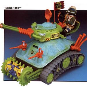 TMNT Teenage Mutant Ninja Turtles 1991 Turtle Tank Radar Accessory Part