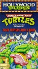 TMNT Four Turtles and a Baby VHS