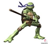 Donatello fight stance