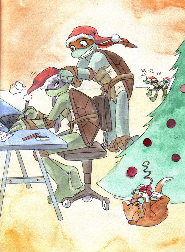 Image tmnt merry christmas by crycryg tmntpedia fandom tmnt merry christmas by crycryg sciox Image collections