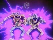Tmnt Anime Bebop and Rocksteady Supermutation